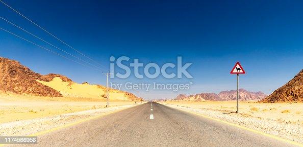 Ad Disah Road, Wadi Rum, Jordan