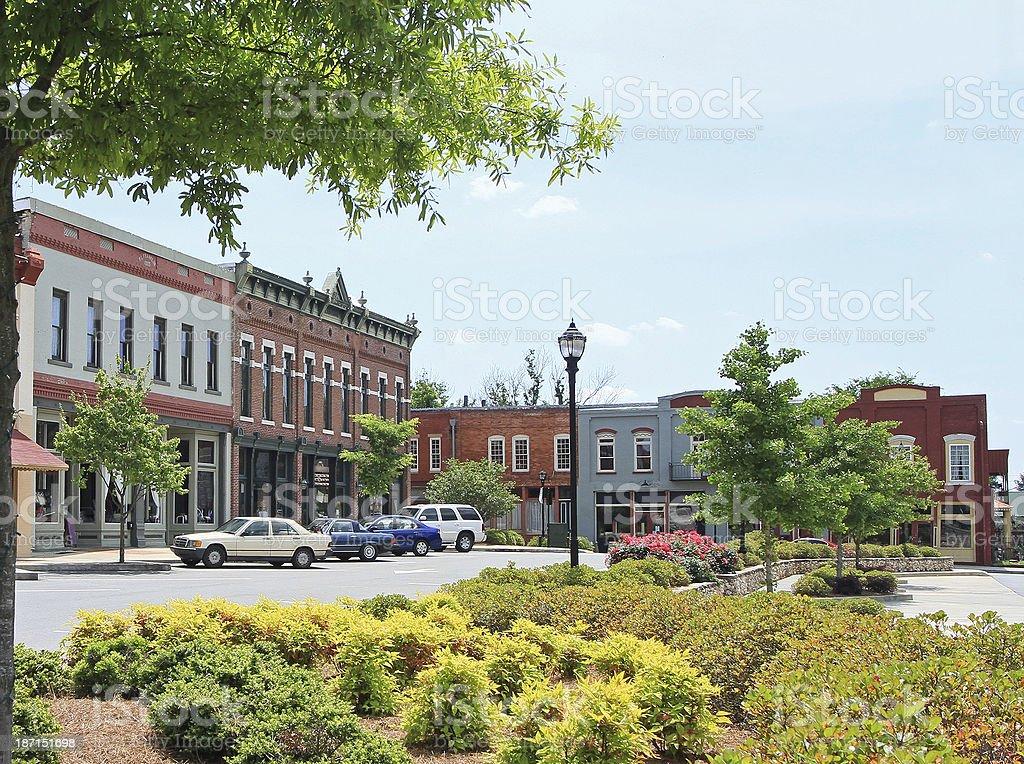 Adairsville Georgia stock photo