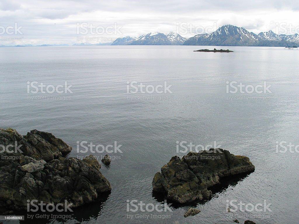 Adak Island stock photo