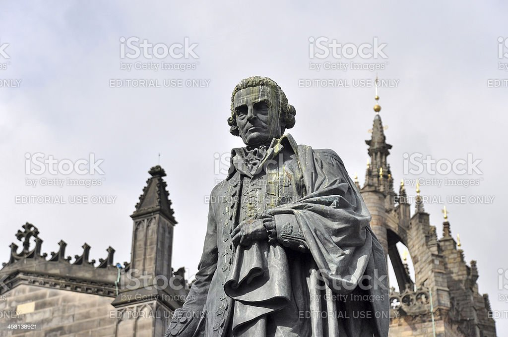 Adam Smith-Statue Edinburgh – Foto