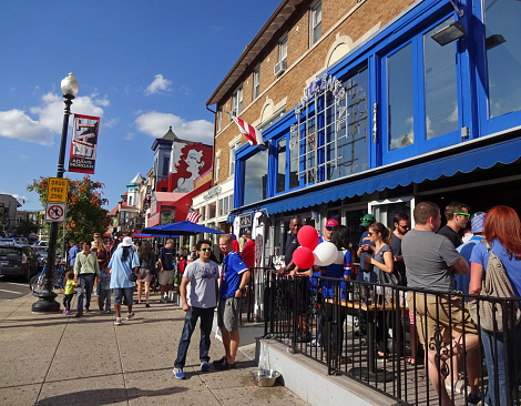 Adams Morgan Day In Early September Stock Photo - Download Image Now