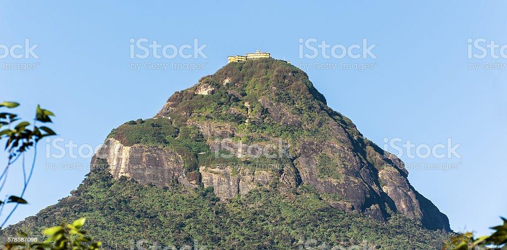 Adam's Peak, Dalhousie, Srilanka stock photo