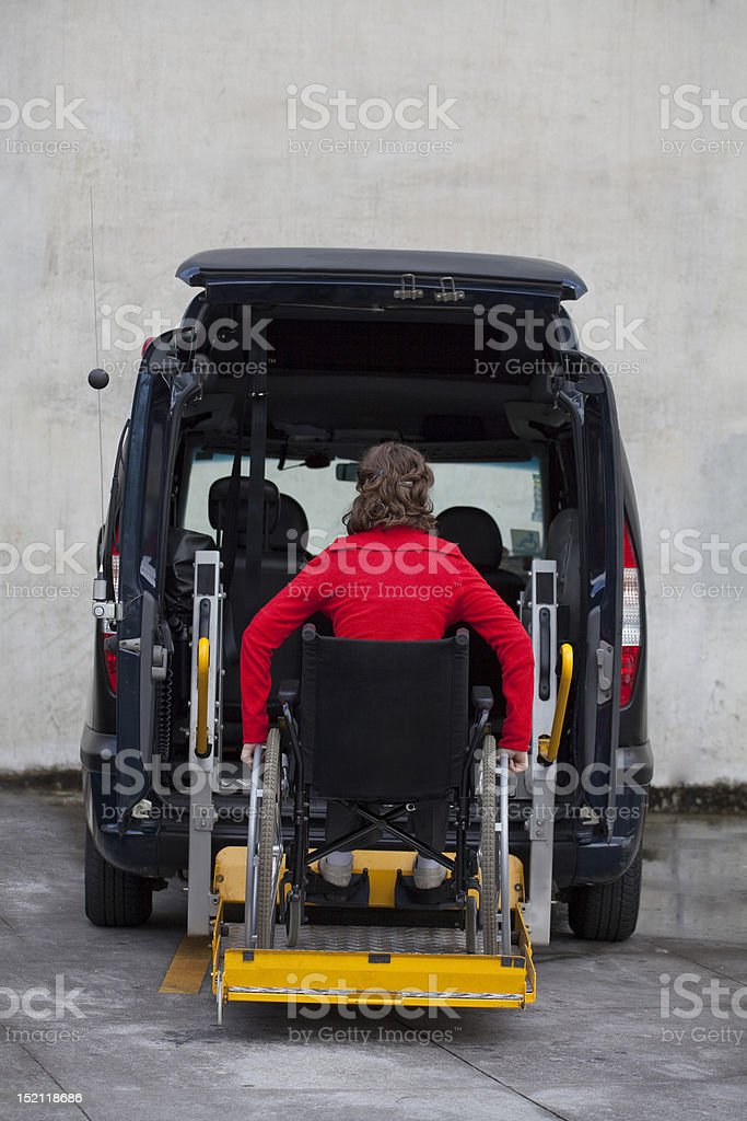 Adapted Car stock photo