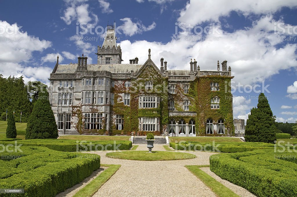 Adare manor stock photo
