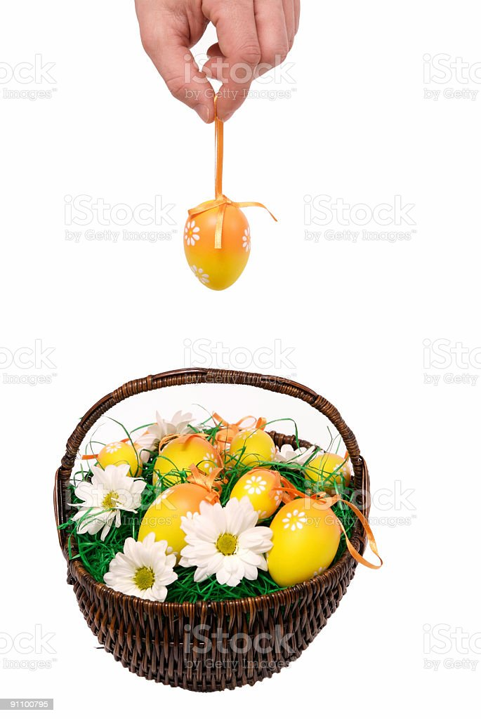Add another egg royalty-free stock photo