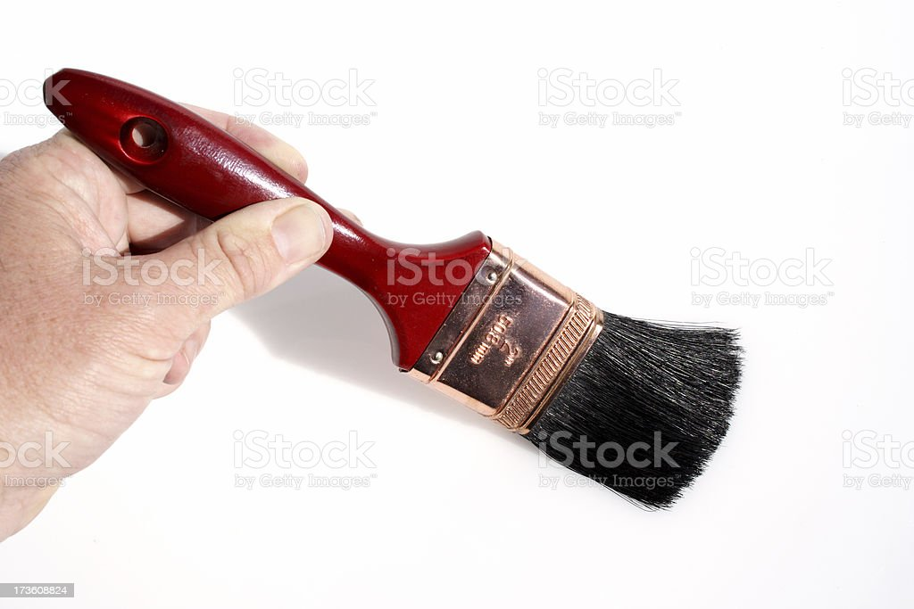 Add house paint royalty-free stock photo