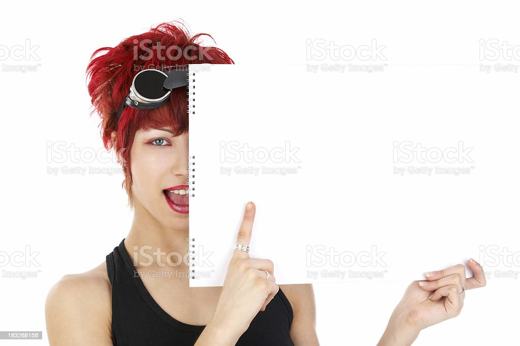 Add text! royalty-free stock photo