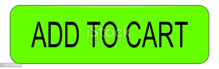 istock Add to cart Button on white backround – illustration 1182254685