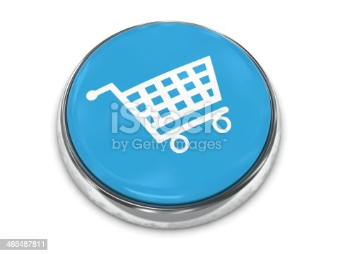istock Add to cart button with eCommerce shopping cart 465487811