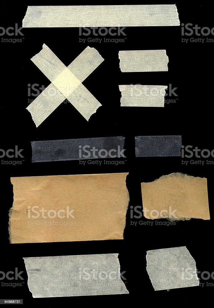 Addhesive tapes royalty-free stock photo