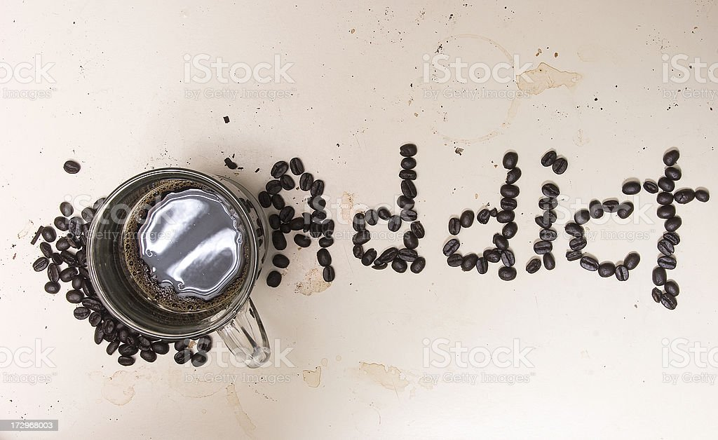 Addicted! royalty-free stock photo