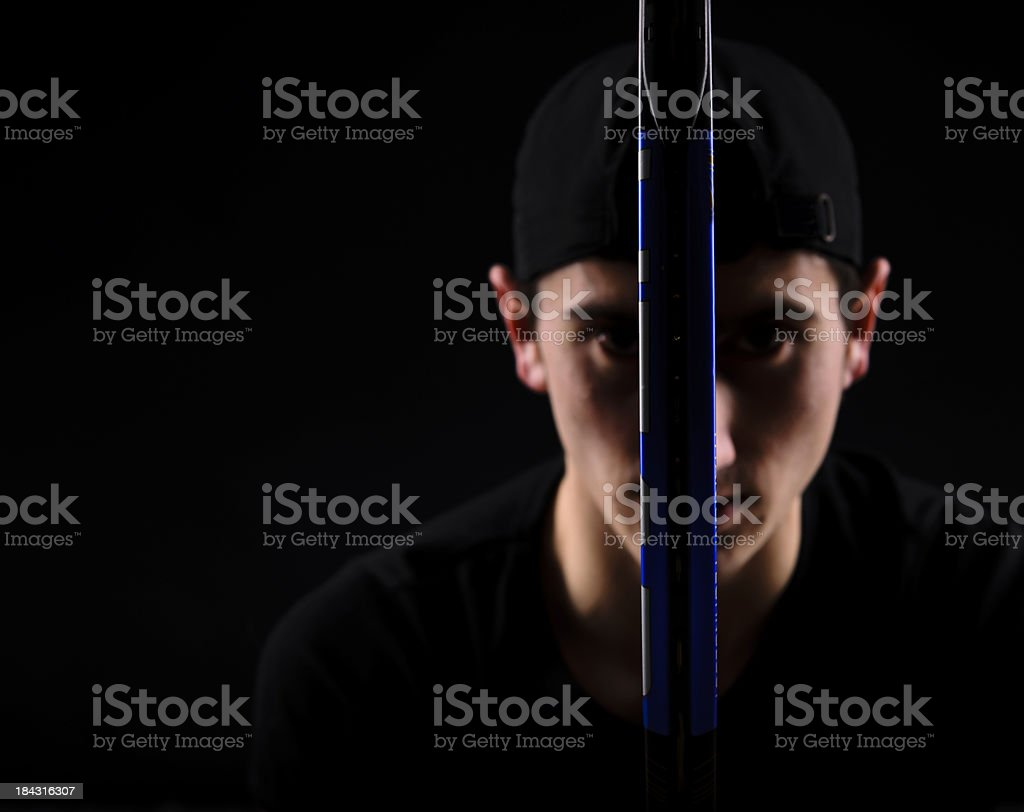 addicted to tennis royalty-free stock photo