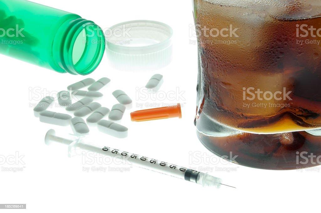 Addiction concept royalty-free stock photo