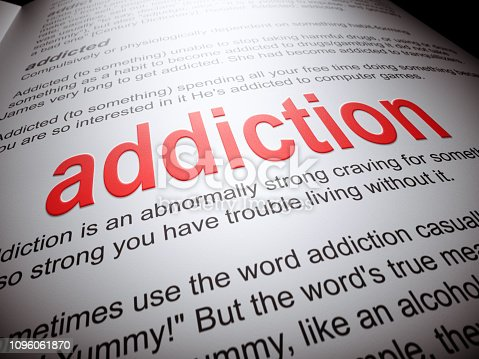 Addiction, Drug Abuse, Dictionary, Substance Abuse