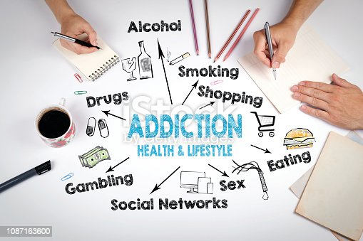 istock Addiction, health and lifestyle concept 1087163600