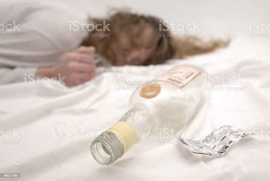 Addiction, horizontal royalty-free stock photo