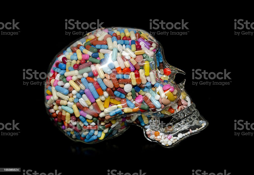 Addiction II stock photo