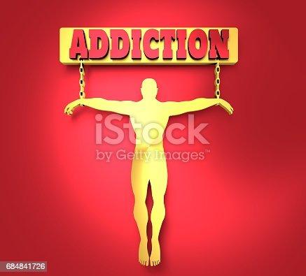 istock addiction metaphor illustration 684841726