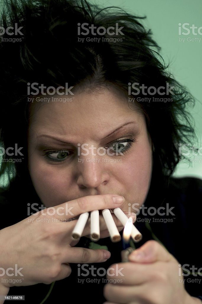 Addiction royalty-free stock photo