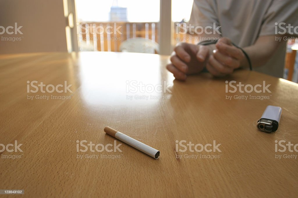 Addictions.... stock photo
