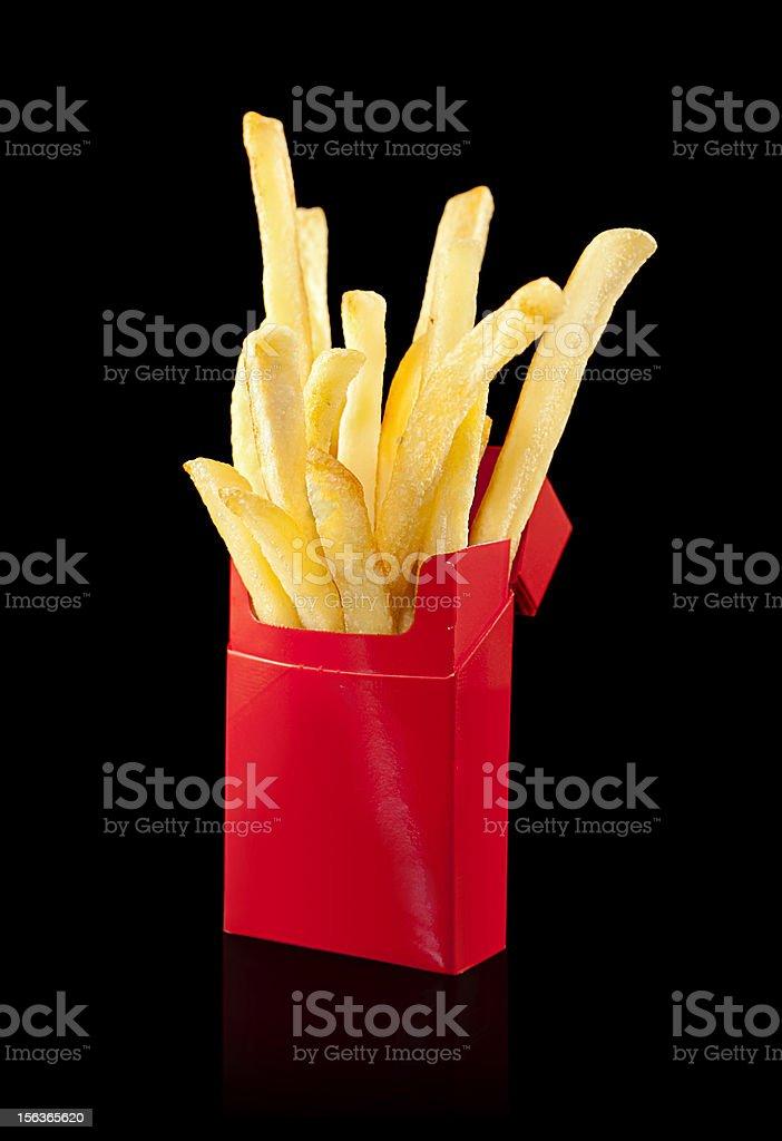 Addictive Fries royalty-free stock photo