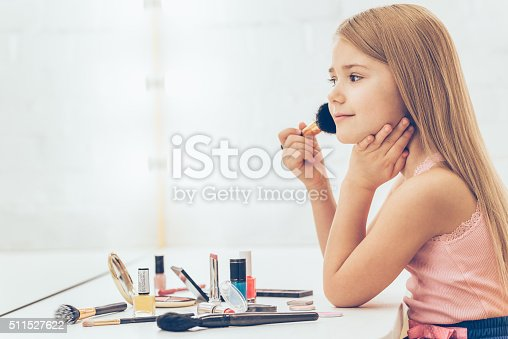 istock Adding some color to my cheeks. 511527622