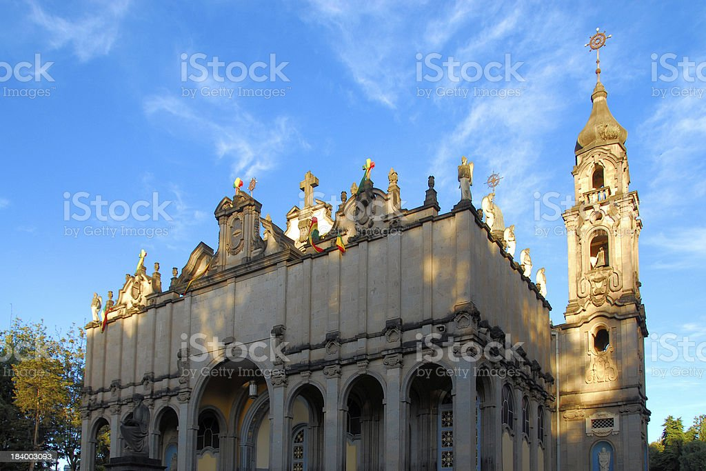 Addis Ababa, Ethiopia: Holy Trinity Cathedral royalty-free stock photo