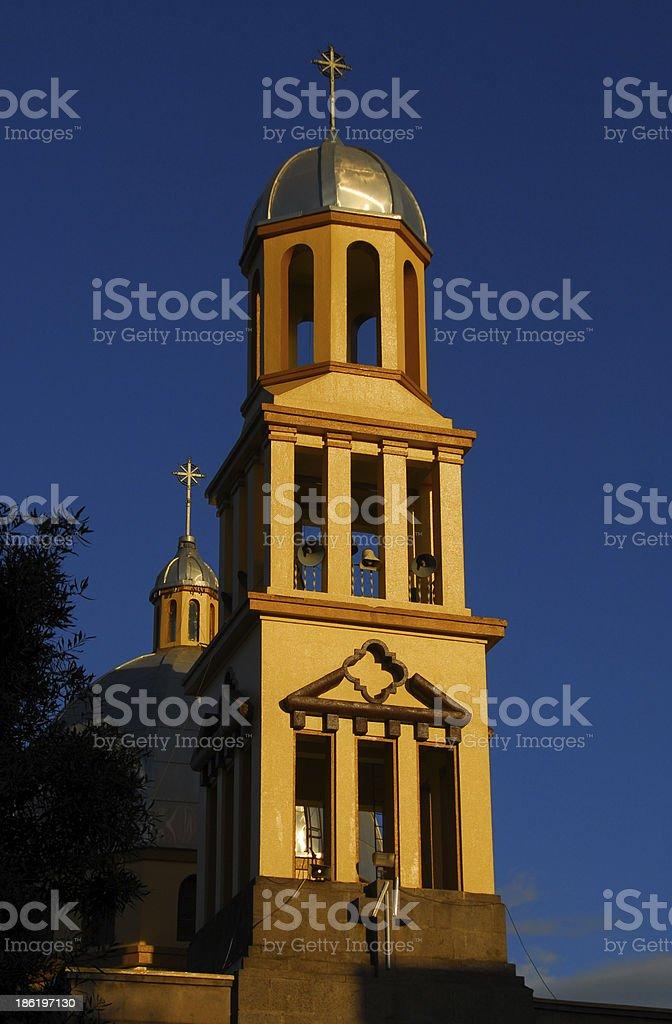 Addis Ababa, Ethiopia: St Raguel church royalty-free stock photo