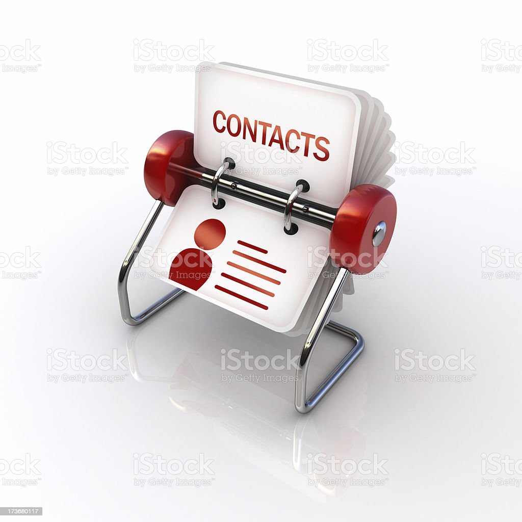 address book royalty-free stock photo