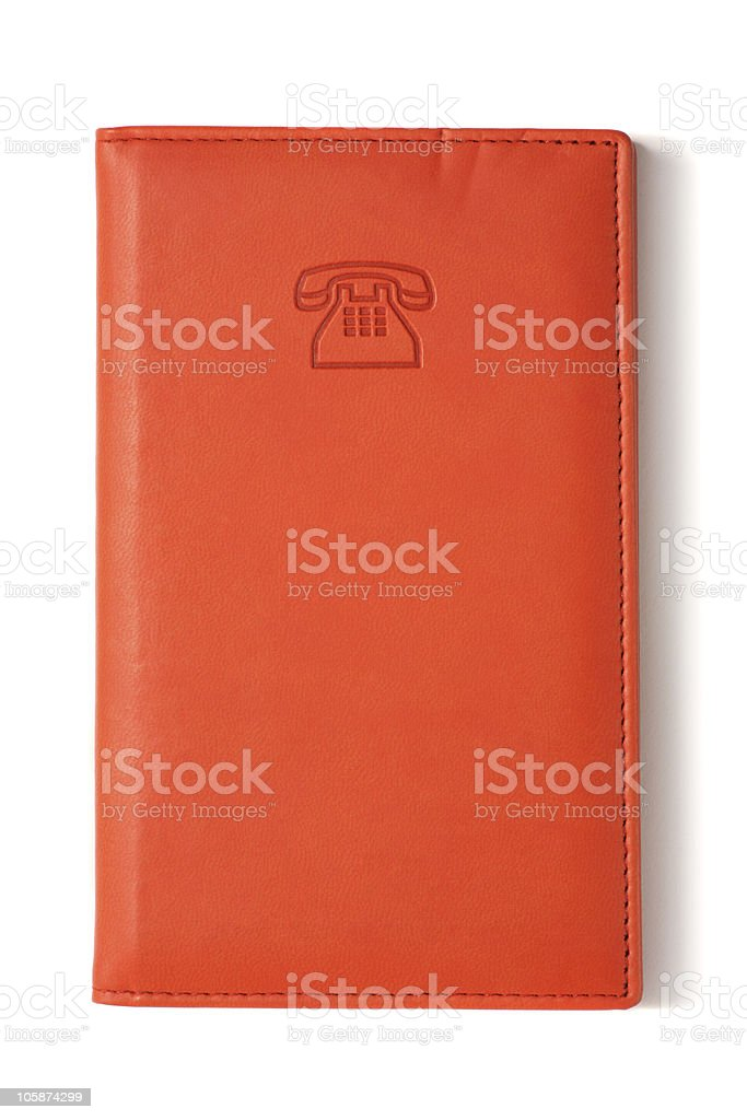 Address & Phone Book royalty-free stock photo