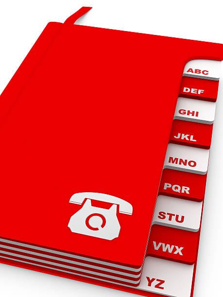address - phone book - address book stock photos and pictures