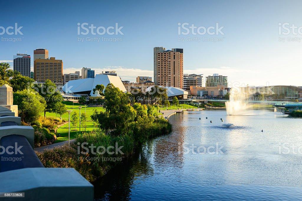 Adelaide Ciity, Australia stock photo