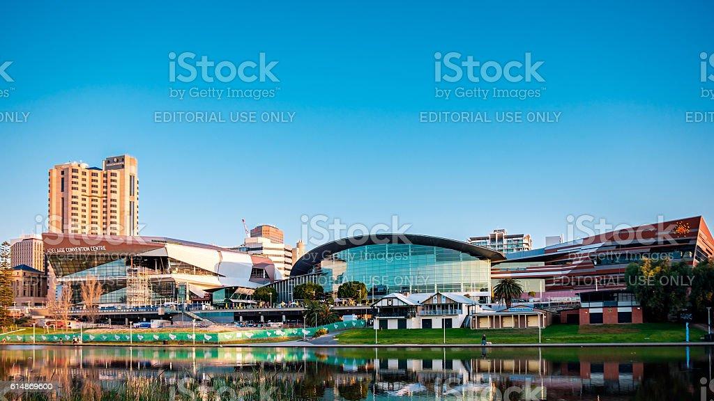 Adelaide City centre stock photo
