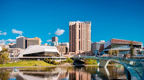 Adelaide die Skyline der Stadt – Foto