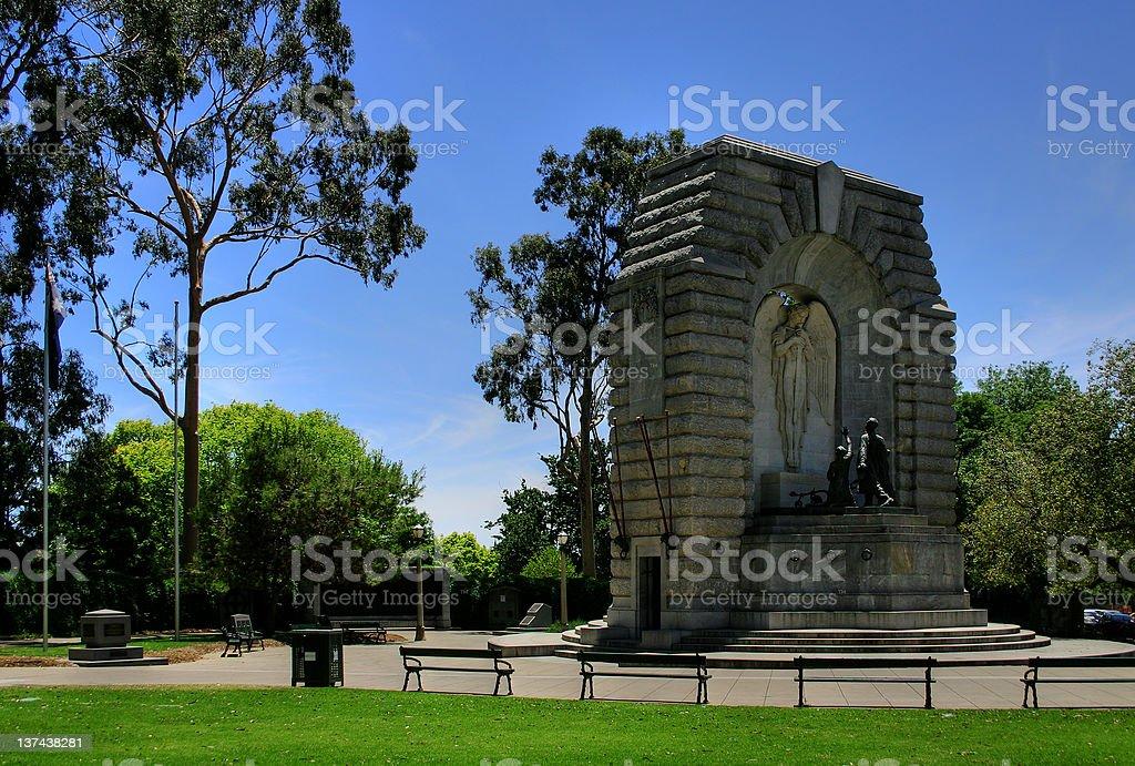 Adelaide - National War Memorial royalty-free stock photo