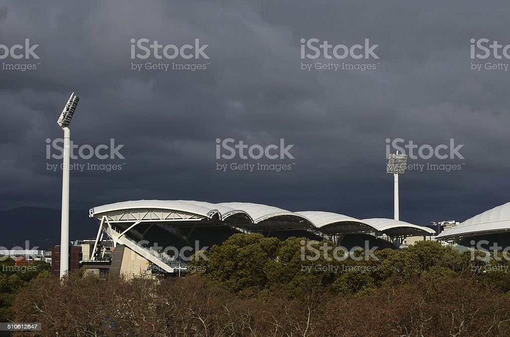Adelaide Oval stock photo