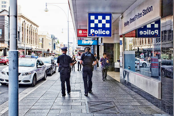 Adelaide Police stock photo