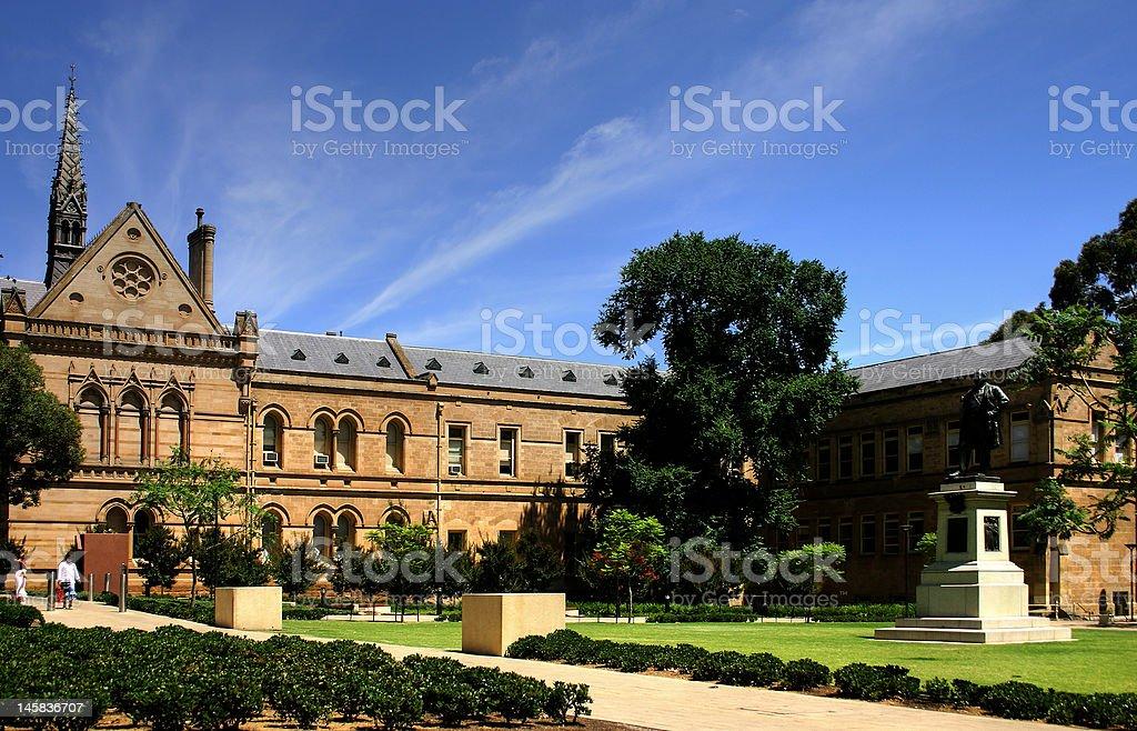 Adelaide - University stock photo