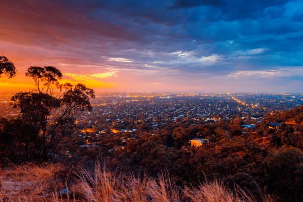 Adelaide von Windy Point aus gesehen – Foto