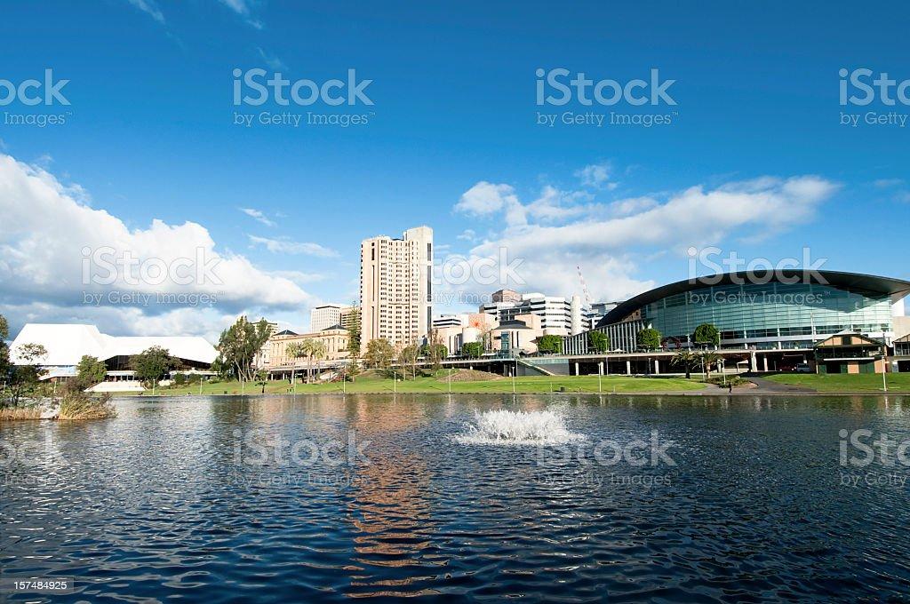 Adelaide Waterfront stock photo