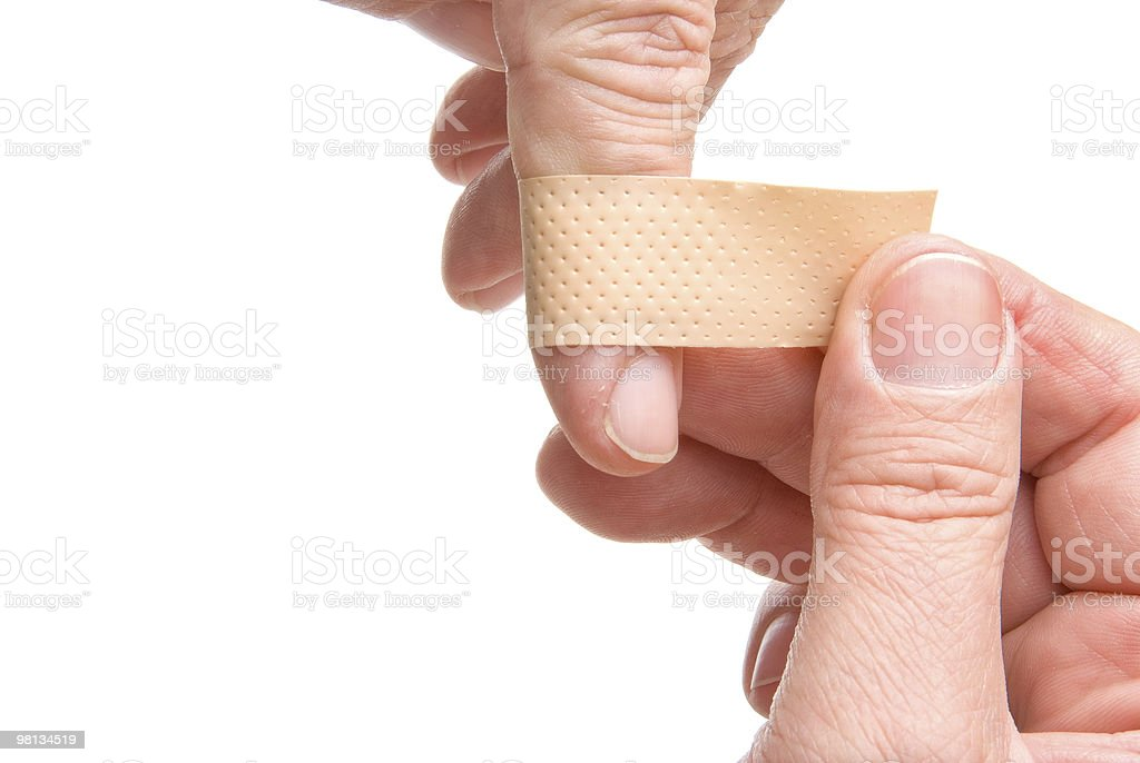 Adhesive Bandage royalty-free stock photo