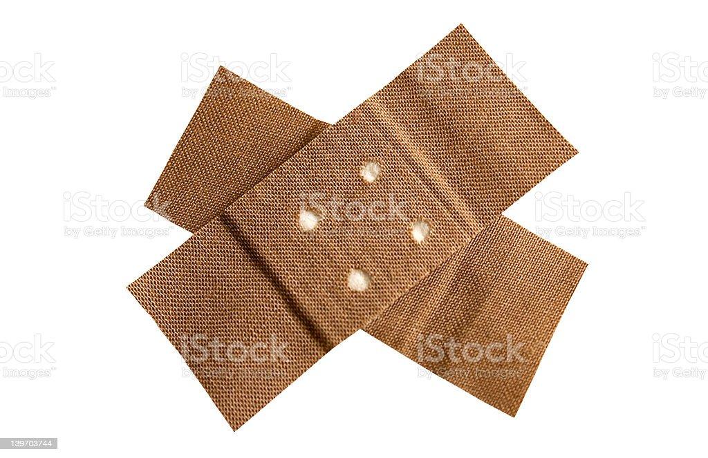 Adhesive Bandage w/ Path royalty-free stock photo