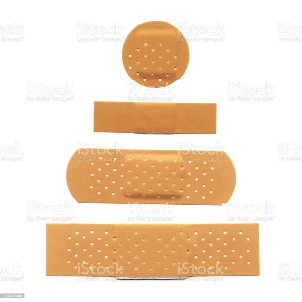 Adhesive Bandages royalty-free stock photo