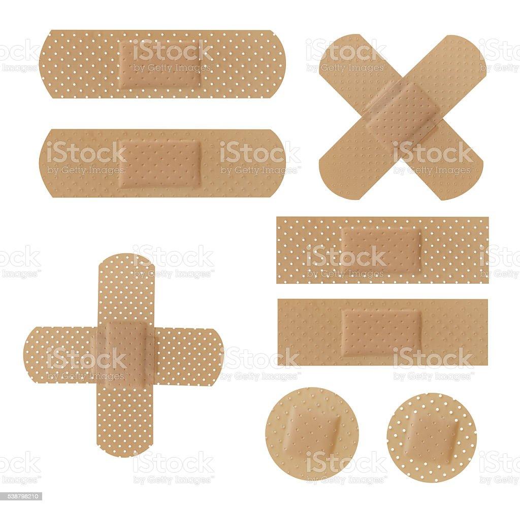 Adhesive Bandages stock photo
