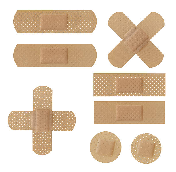 Adhesive Bandages stock photo