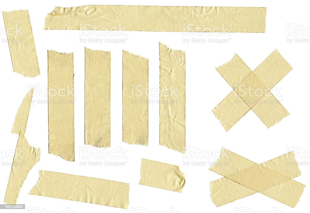 Adhesive Masking Tape royalty-free stock photo