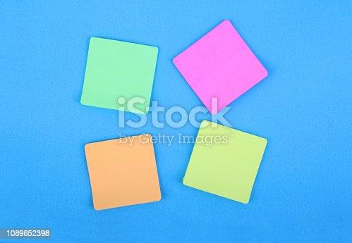 istock Adhesive Notes 1089652398