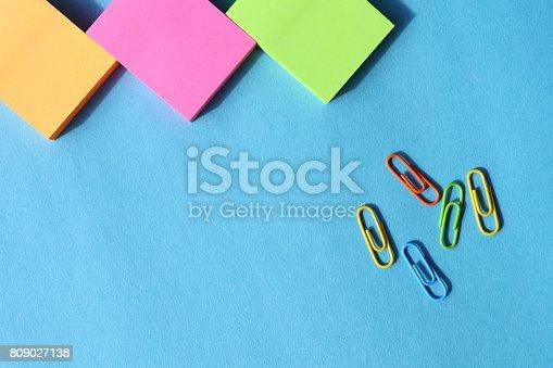 istock Adhesive Notes 809027138