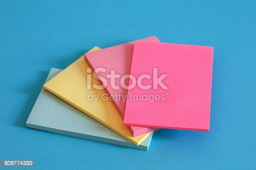 istock Adhesive Notes 828774330