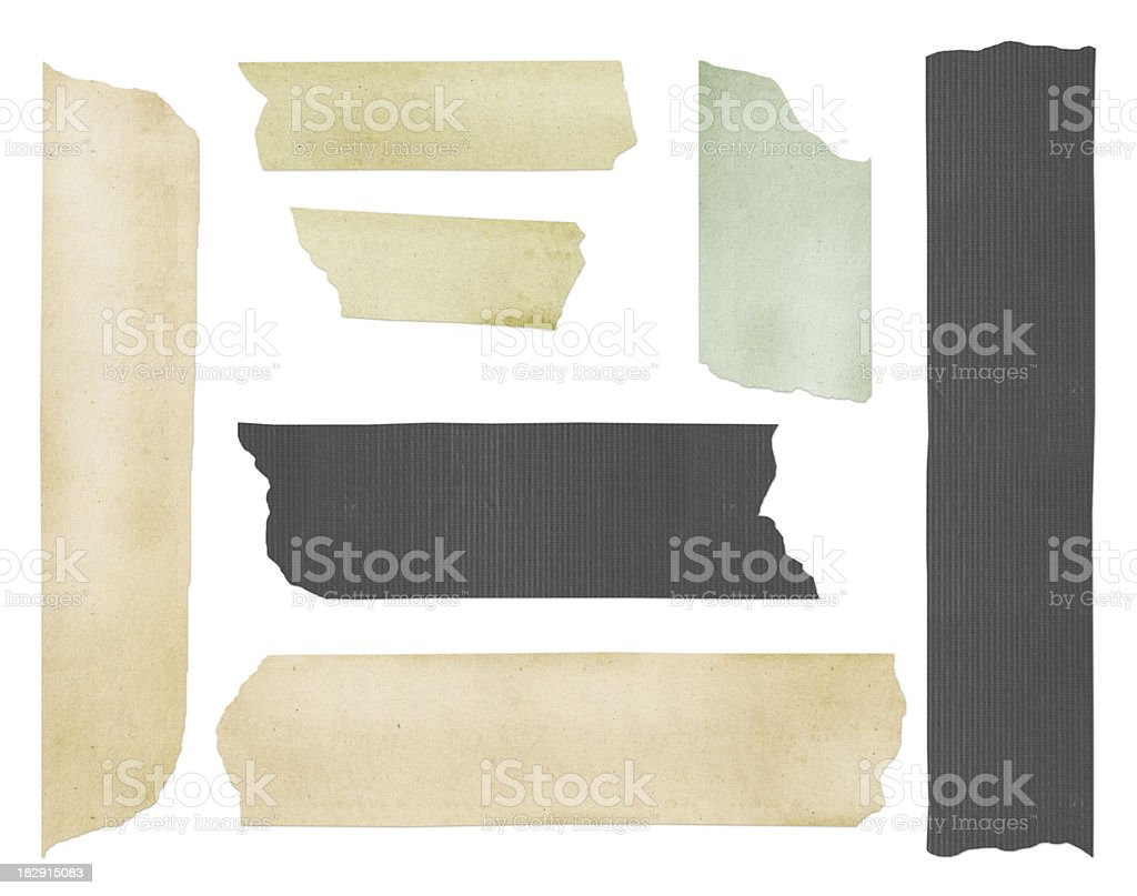 Adhesive tape stock photo
